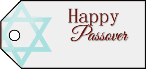 Happy Passover Gift Tag gift tag