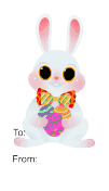 Easter Rabbit (white background)