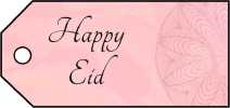Happy Eid Gift Tags