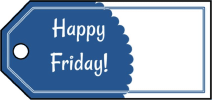 Happy Friday Gift Tags