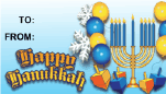 Happy Hanukkah Balloons
