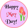 Happy May Day Gift Tags