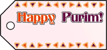 Happy Purim Gift Tags