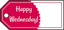 Happy Wednesday Gift Tags