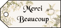 Merci Beaucoup Gift Tags