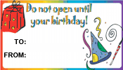 Do Not Open Until Your Birthday